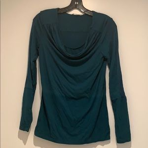 Noppies maternity / nursing top in forest green